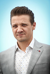 Jeremy Renner attend the 'Wind River' photocall during the 70th annual Cannes Film Festival at Palais des Festivals on May 20, 2017 in Cannes, France. Photo by ShootPix/ABACAPRESS.COM