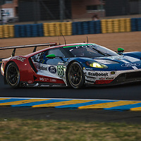 #66, Ford Chip Ganassi Team UK, Ford GT,  driven by: Stefan Mucke, Olivier Pla, Billy Johnson,  on 18/06/2017 at the 24H of Le Mans, 2017