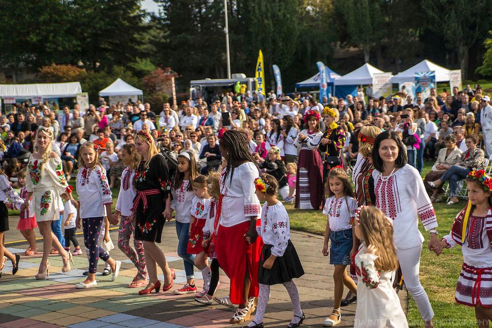 Pageant @ Ukrainian Festival, Bellevue