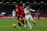 Football - 2016 / 2017 Premier League - AFC Bournemouth vs. Sunderland<br /> <br /> Bournemouth's Adam Smith grabs Duncan Watmore of Sunderland shirt in an attempt to stop the Sunderland forward getting to the ball at Dean Court (The Vitality Stadium) Bournemouth<br /> <br /> COLORSPORT/SHAUN BOGGUST