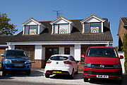 Local response to Coronavirus is felt on a street by street level as children put up rainbow paintings in the windows of their homes on 22nd April 2020 in Kenilworth, England, United Kingdom. Coronavirus or Covid-19 is a new respiratory illness that has not previously been seen in humans. While much or Europe has been placed into lockdown, the UK government has put in place more stringent rules as part of their long term strategy, and in particular social distancing.