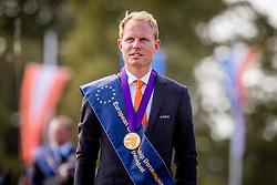 DodderGold medal, Chardon Bram, NED<br /> Prizegiving FEI rider of the year<br /> Driving European Championship <br /> Donaueschingen 2019<br /> © Hippo Foto - Dirk Caremans<br /> Gold medal, Chardon Bram, NED