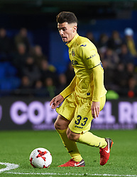 November 30, 2017 - Vila-Real, Castellon, Spain - Victor Moya Chuca of Villarreal CF during the Copa del Rey, Round of 32, Second Leg match between Villarreal CF and SD Ponferradina at Estadio de la Ceramica on november 30, 2017 in Vila-real, Spain. (Credit Image: © Maria Jose Segovia/NurPhoto via ZUMA Press)