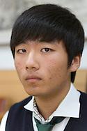 Inchae Ryu, student at the Shinil High School, Seoul, South Korea.
