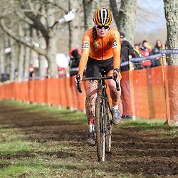 19-01-2020: Wielrennen: Wereldbeker Veldrijden: Nommay <br />Ilse Pluimers derde junior