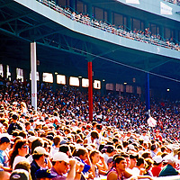 Famous Fenway Park, home to the American League's Boston Red Sox. Opened April 20, 1912.