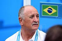 Trainer Luiz Felipe Scolari (Brasilien)<br /> Fussball, FIFA WM 2014 in Brasilien, Vorrunde, <br /> Brasil - Mexico<br /> <br /> Norway only