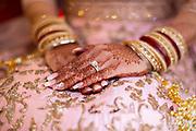 Indian wedding detail hands
