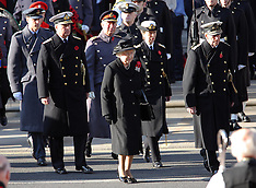 The Royal Family at The Cenotaph