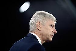 Arsenal manager Arsene Wenger during the Premier League match at Selhurst Park, London.