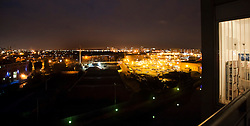 View of Manchester By Night from the Water street area looking out over ordsall Lane / Oldfield Road..www.pauldaviddrabble.co.uk..29 January 2012 -  Image © Paul David Drabble