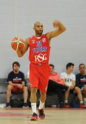 Cardell McFarland - Mandatory byline: Dougie Allward/JMP - 07966 386802 - 10/09/2015 - BASKETBALL - SGS Wise Arena - Bristol, England - Bristol Flyers v USA Select.