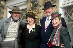 Civilian Reenactors taking part in the Pickering 1940s war weekend  October 2009 Image Copyright Paul David Drabble