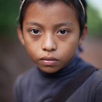 Portrait of a boy in Concepción Actelá, Alta Verapaz.