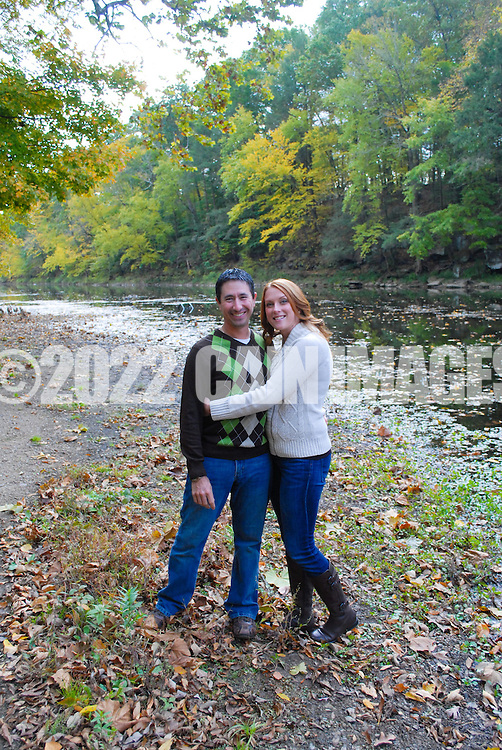 10/14/12 9:27:22 AM - Newtown, PA.. -- Amanda & Elliot October 14, 2012 in Newtown, Pennsylvania. -- (Photo by William Thomas Cain/Cain Images)