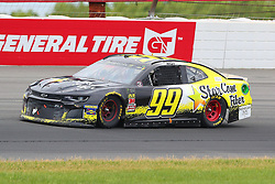 June 3, 2018 - Long Pond, PA, U.S. - LONG POND, PA - JUNE 03:  Derrike Cope (99) drives the.StarCom Fiber Chevrolet during the Monster Energy NASCAR Cup Series - Pocono 400 on June 3, 2018 at Pocono Raceway in Long Pond, PA.  (Photo by Rich Graessle/Icon Sportswire) (Credit Image: © Rich Graessle/Icon SMI via ZUMA Press)