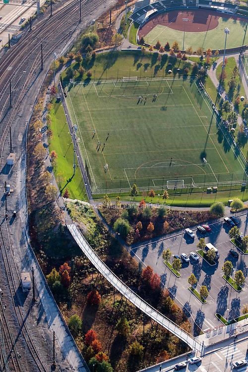 Penn Park, designed by Michael Van Valkenburgh Associates