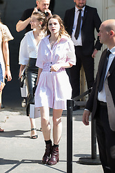 Christa Theret arriving at Chanel fashion show during Paris Haute Couture Fall Winter 2018/2019 in Paris, France on July 03, 2018. Photo by Nasser Berzane/ABACAPRESS.COM