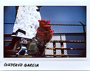 A vigil for Gustavo Garcia, 10-year-old, on the overpass at East 95th and Avenue N in Chicago, in this photo taken July 19, 2017. Garcia was fatally shot in the back while riding in a vehicle with his step-father on July 15, 2017.