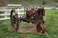 Rusted farm tractor, Cottonwood Canyon State Park, Oregon
