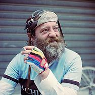 A glass of red wine and a sigarette is a good way to take a break on the road. On May 27, 2018 the second edition od the Eroica went of, the Eroica is a bicycle race where only bikes berore 1985 can partecipate. Cyclists must wear vintage cloths and the road are often on gravel. It's a non competitive race, but fatigue and sweat are real. Federico Scoppa