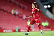 Liverpool women forward Courtney Sweetman-Kirk (9) during the FA Women's Super League match between Liverpool Women and Everton Women at Anfield, Liverpool, England on 17 November 2019.