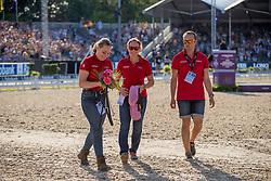 Grooms Team Germany, ...<br /> European Championship Dressage<br /> Rotterdam 2019<br /> © Hippo Foto - Dirk Caremans