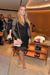 LADY KITTY SPENCER at a dinner hosted by Tod's to celebrate the refurbishment of their store 2-5 Old Bond Street, London on 15th September 2016.