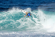 Adrian Buchan of Australia advances directly to Round Three of the 2017 Billabong Pipe Masters after winning Heat 1 of Round One at Pipe, Oahu, Hawaii, USA