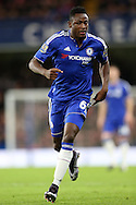 Baba Rahman of Chelsea in action. Barclays Premier league match, Chelsea v AFC Bournemouth at Stamford Bridge in London on Saturday 5th December 2015.<br /> pic by John Patrick Fletcher, Andrew Orchard sports photography.