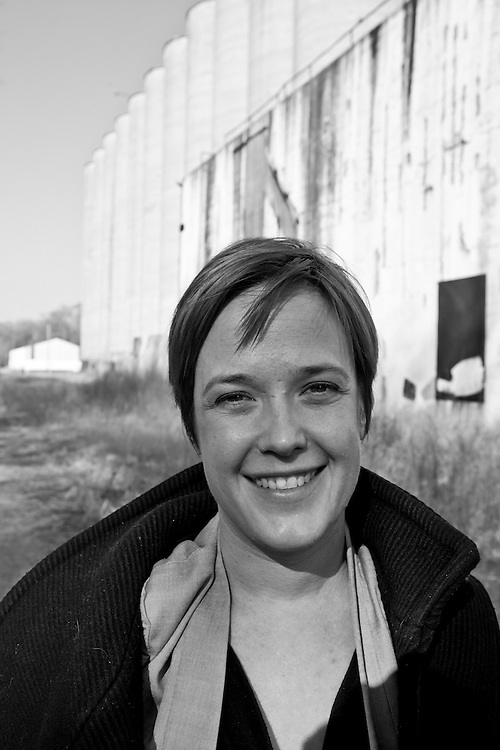 25 January 2012-Anne Trumble from Emerging Terrain is photographed for Omaha Magazine.