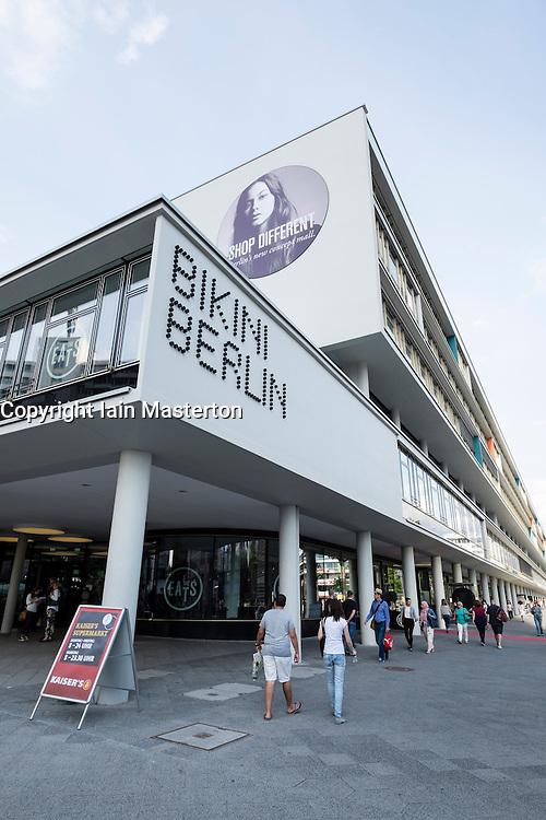 New Shopping Mall Bikini Berlin in Charlottenburg in Berlin Germany