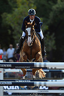 Paris, France : Julien Epaillard riding Quedge Deenne during the Longines Paris Eiffel Jumping 2018, on July 5th to 7th, 2018 at the Champ de Mars in Paris, France - Photo Christophe Bricot / ProSportsImages / DPPI