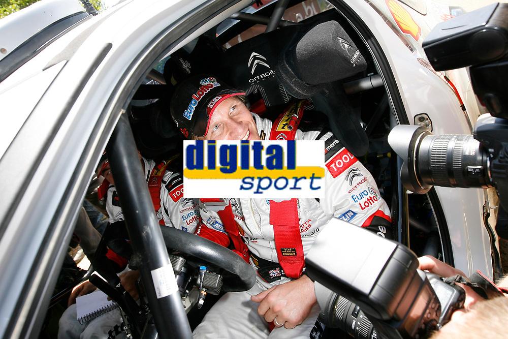 MOTORSPORT - WRC 2011 - RALLYE ITALIA SARDEGNA - OLBIA (ITA) - 05/05 TO 08/05/2011 - PHOTO : BASTIEN BAUDIN / DPPI SOLBERG PETTER (NOR) - CITROËN DS 3 WRC - PETTER SOLBERG WRT - AMBIANCE PORTRAIT