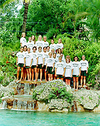 2000 Miami Hurricanes Swimming - Caneshooter Archive Scans 2020