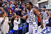 Dyshawn Pierre<br /> Banco di Sardegna Dinamo Sassari - Grissin Bon Reggio Emilia<br /> Legabasket LBA Serie A 2019-2020<br /> Sassari, 16/11/2019<br /> Foto L.Canu / Ciamillo-Castoria