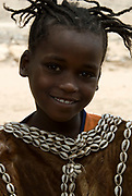 Themay girl, Themay Tribe Village, Omo Valley, Ethiopia, portrait, person, one, tribes, tribal, indigenous, peoples, Southern, ethnic, rural, local, traditional, culture, primitive, young