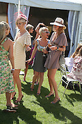 Alexia Inge, Jaime Winstone and Olivia Inge, The Veuve Clicquot Gold Cup 2007. Cowdray Park, Midhurst. 22 July 2007.  -DO NOT ARCHIVE-© Copyright Photograph by Dafydd Jones. 248 Clapham Rd. London SW9 0PZ. Tel 0207 820 0771. www.dafjones.com.