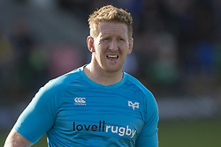 March 2, 2019 - Galway, Ireland - Bradley Davies of Ospreys during the Guinness PRO 14 match  between Connacht Rugby and Ospreys at the Sportsground in Galway, Ireland on March 2, 2019  (Credit Image: © Andrew Surma/NurPhoto via ZUMA Press)