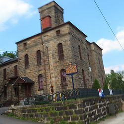 Carbon County Jail in Jim Thorpe, Pennsylvania is where the Molly Maguire Executions were held.
