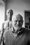 "Olbram Zoubek (21 April 1926 – 15 June 2017) was a contemporary Czech sculptor and designer. His work was inspired by Swiss-Italian sculptor Alberto Giacometti. Zoubek was particularly well known for having taken a death mask of Jan Palach, a Charles University student who burned himself to death in protest over the 1968 Soviet invasion of Czechoslovakia. One of his most famous works is his ""Memorial to the Victims of Communism"" in Prague."