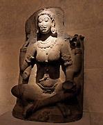 A Yogini witch, Tamil Nadu, India. Chola Period IX-X Century