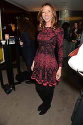 """HEATHER KERZNER at a private screening Of """"The Gun, The Cake and The Butterfly"""" hosted by Amanda Eliasch at The Bulgari Hotel, 171 Knightsbridge, London on 24th March 2014."""