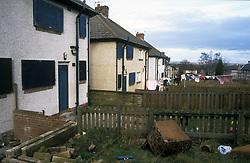 Council estate; Huddersfield UK