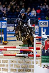 SEIDL Ann-Sophie (GER), Briana BS<br /> Finale HGW-Bundesnachwuchschampionat der Springreiter <br /> gefördert durch die Horst-Gebers-Stiftung <br /> In Memoriam Debby Winkler<br /> Stilspringen Kl. M*<br /> Nat. style jumping competition Kl. M*<br /> Braunschweig - Classico 2020<br /> 08. März 2020<br /> © www.sportfotos-lafrentz.de/Stefan Lafrentz