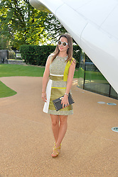 KELLY EASTWOOD at a summer drinks party hosted by Bec Astley Clarke at the Serpentine Sackler Gallery, Hyde Park, London on 17th June 2014.