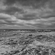 Today's overcast Winter Sunrise  at Narragansett Town Beach, Narragansett, RI,  February  8, 2013.