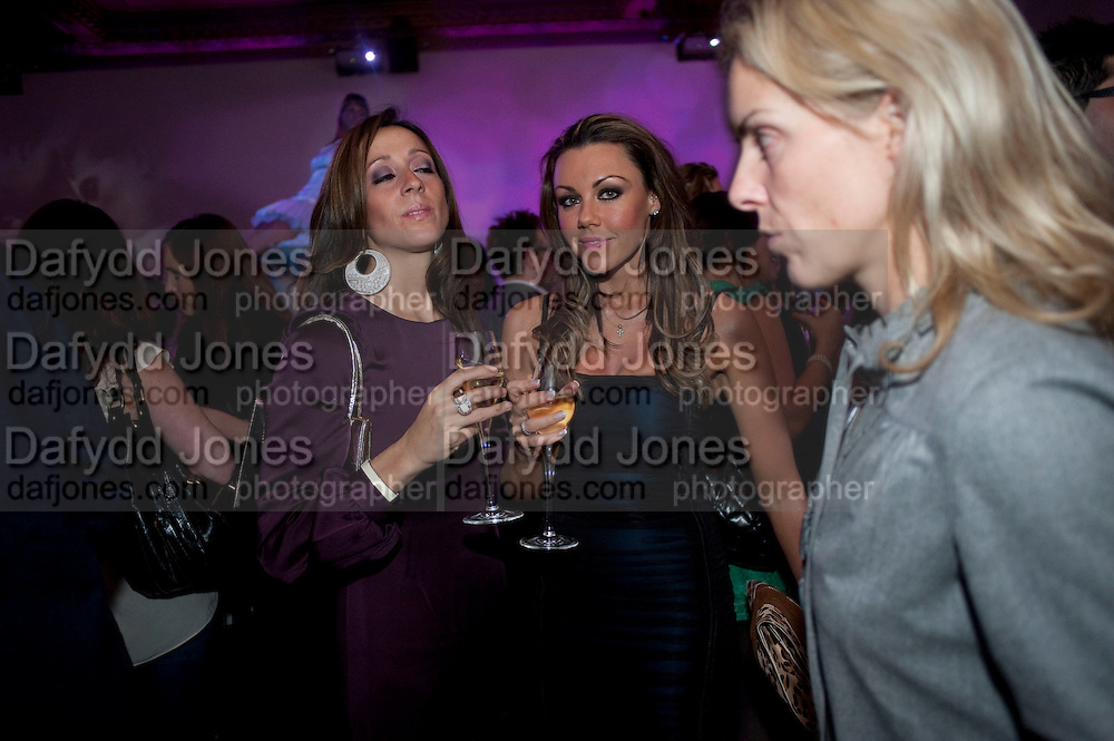 VIVIANNA; MICHELLE HEATON, Durex - 80th birthday party. Sketch, 9 Conduit Street, London W1, 20 OCTOBER 2009