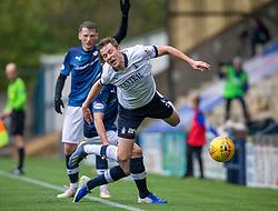 Falkirk's Paul Dixon tackled. Raith Rovers 2 v 2 Falkirk, Scottish Football League Division One played 5/9/2019 at Stark's Park, Kirkcaldy.