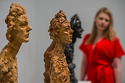 Bust of Annette (Various) - the UK's first major retrospective of Alberto Giacometti (1901-1966) for 20 years.<br /> Celebrated as a sculptor, painter and draughtsman, he is famous for his distinctive elongated figures. With the help of Fondation Alberto et Annette Giacometti, Paris, Tate Modern's exhibition brings together over 250 works. Alberto Giacometti is at Tate Modern from 10 May to 10 September 2017